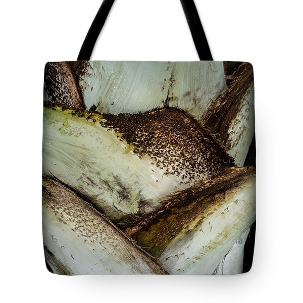 Tote Bag featuring the photograph Green Abstract Series No.2 by Juan Contreras