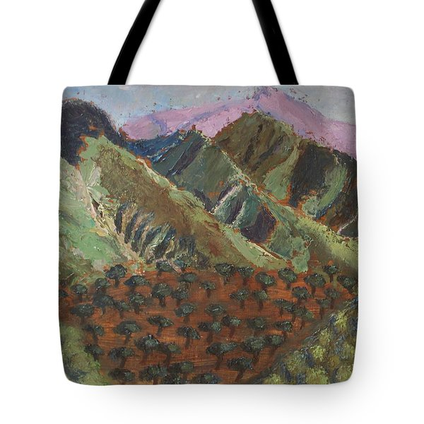 Green Canigou Tote Bag