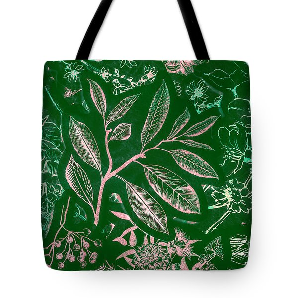 Green Composition Tote Bag