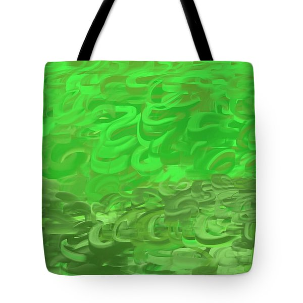Green Expansions Tote Bag