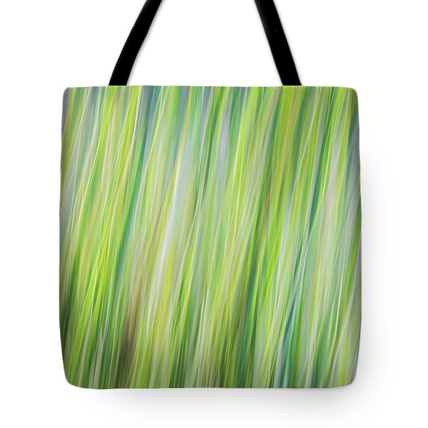 Green Grasses Tote Bag