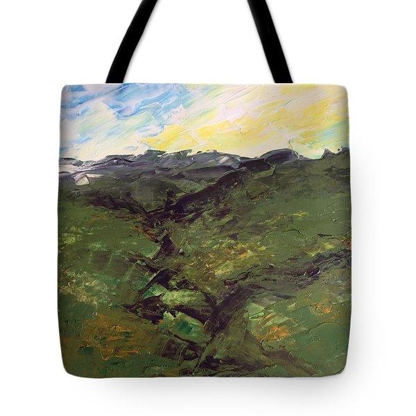 Green Hills Tote Bag
