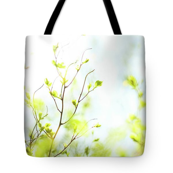 Tote Bag featuring the photograph Green Iv by Anne Leven