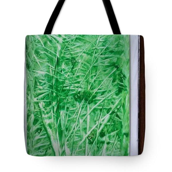 Green Jungle Tote Bag