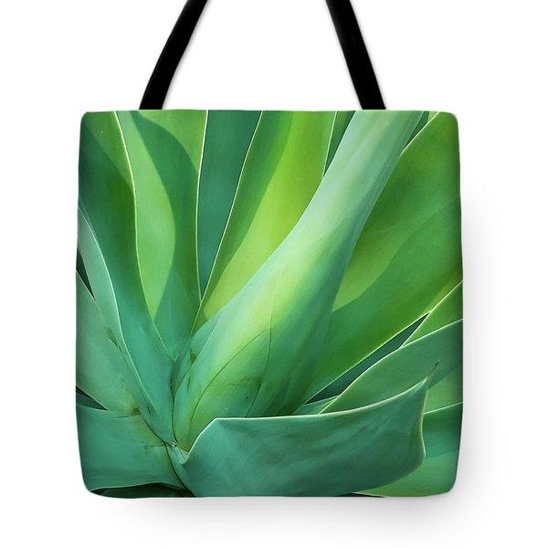 Green Minimalism Tote Bag