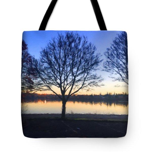 Greenlake Dawn Tote Bag