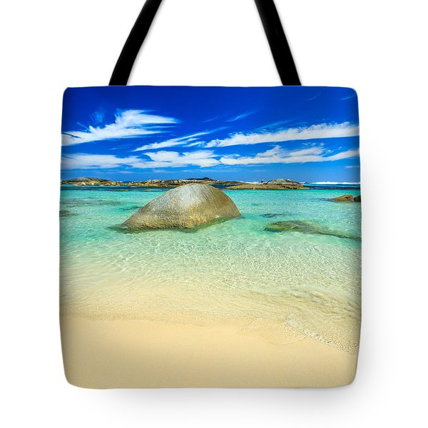Tote Bag featuring the photograph Greens Pool Albany by Benny Marty