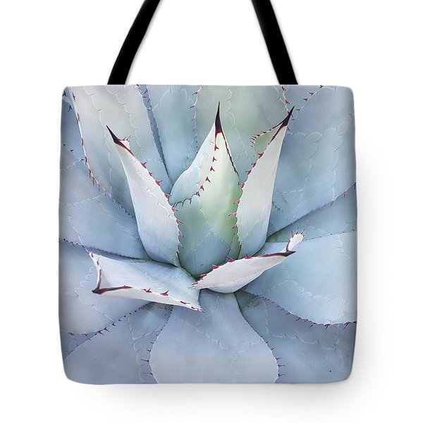 Tote Bag featuring the photograph Grey Cactus by Top Wallpapers