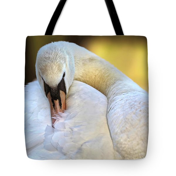 Groom The Plume Tote Bag