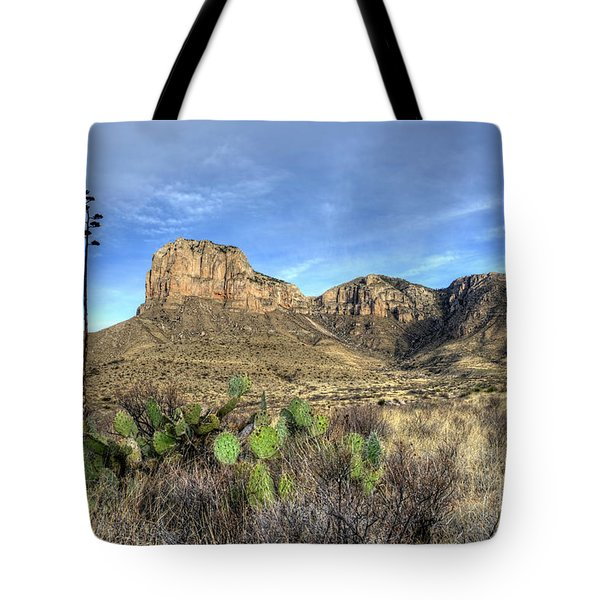 Tote Bag featuring the photograph Guadalupe Desert by Joe Sparks