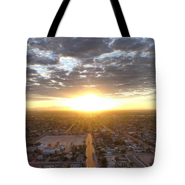 Guadalupe Sunset Tote Bag