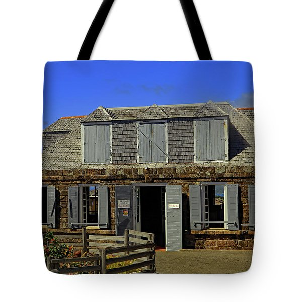 Tote Bag featuring the photograph Guardhouse by Tony Murtagh