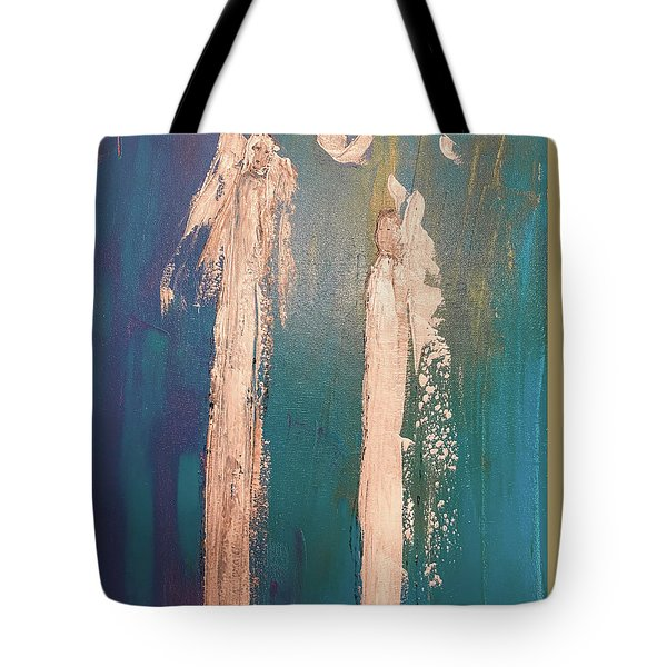 Guiding Angels...he Has Risen Tote Bag