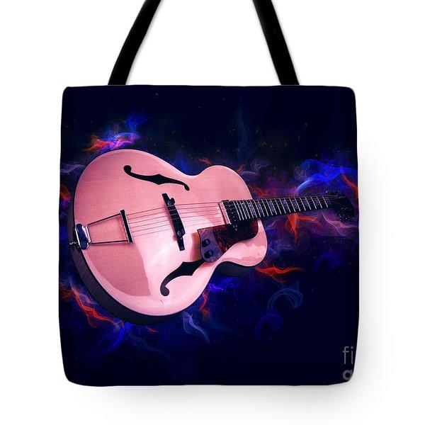 Guitar Art Tote Bag