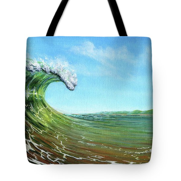 Gulf Of Mexico Surf Tote Bag