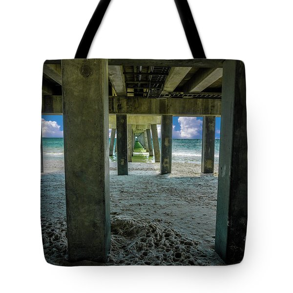Gulf Shores Park And Pier Al 1649b Tote Bag