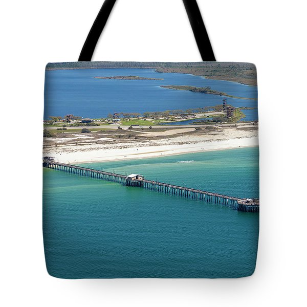Gulf State Park Pier 7464n Tote Bag