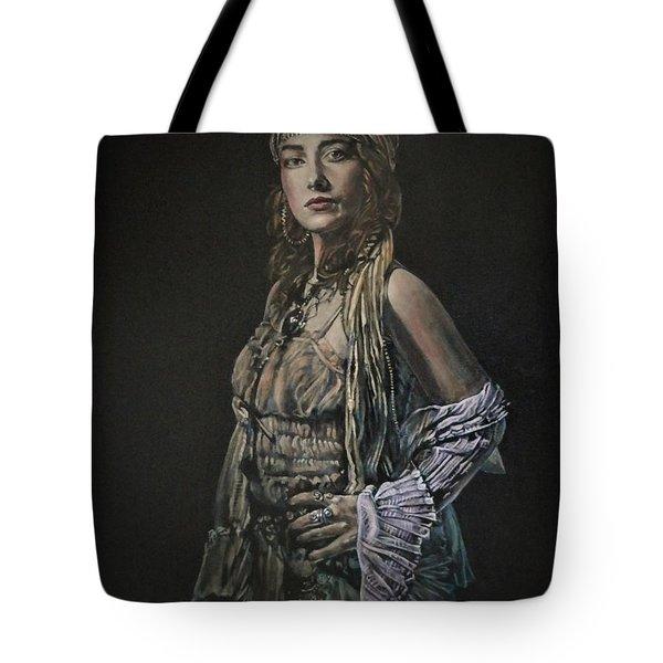 Gypsy Portrait Tote Bag