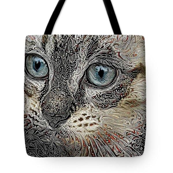 Gypsy The Siamese Kitten Tote Bag