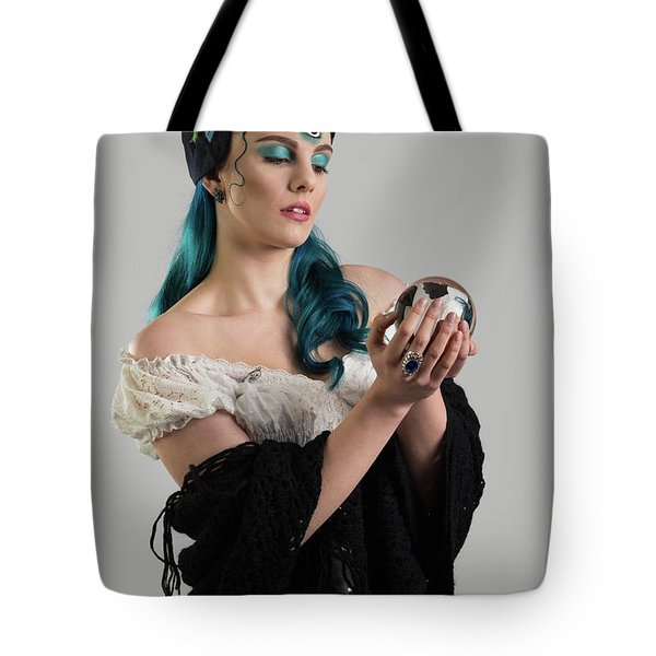 Gypsy With Third Eye Tote Bag