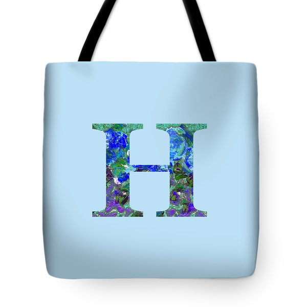 Tote Bag featuring the digital art H 2019 Collection by Corinne Carroll
