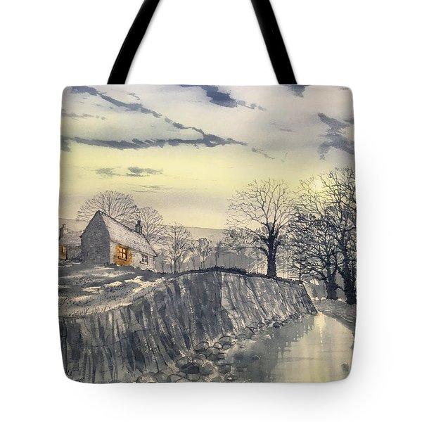 Hag Dyke By Moonlight Tote Bag