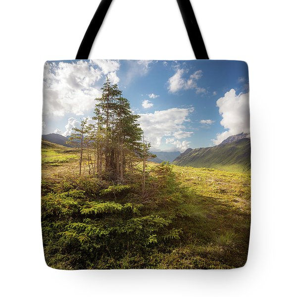 Haiku Forest Tote Bag