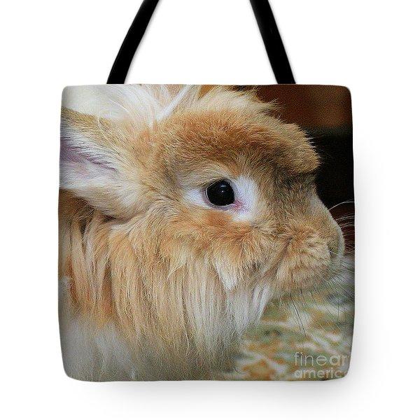 Hairy Rabbit Tote Bag