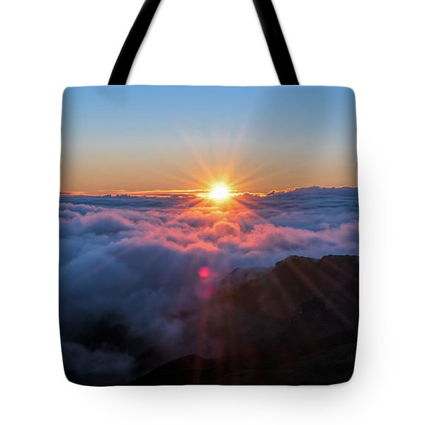 Haleakala First Light  Tote Bag