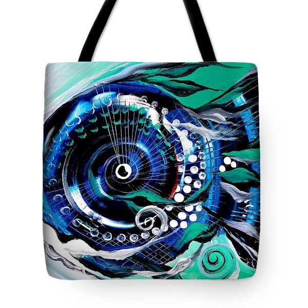 Half-smile, Break The Ice Fish Tote Bag