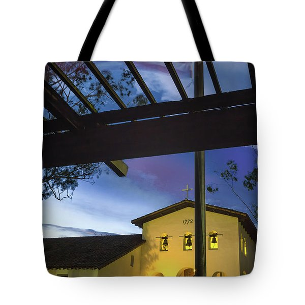 Half Staff At The Slo Mission Tote Bag