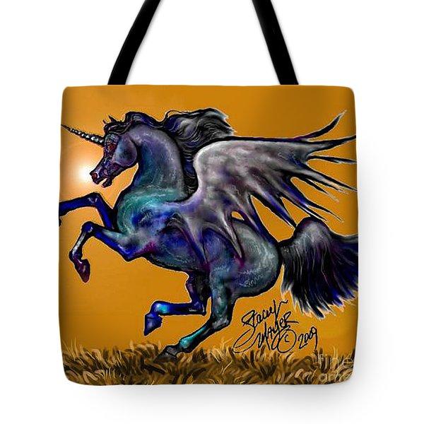 Halloween Fantasy Horse Tote Bag