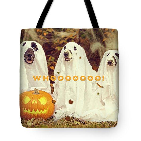 Halloween Hounds Tote Bag
