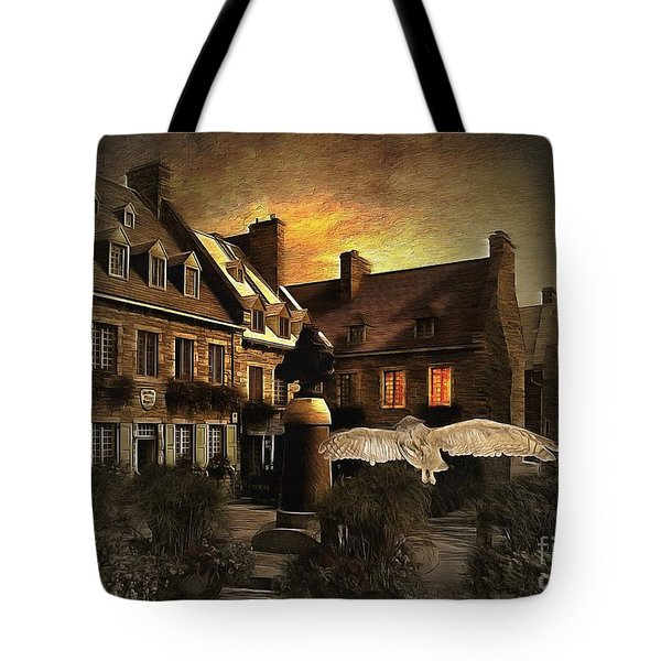 Halloween Mystery Night At Place Royale Tote Bag