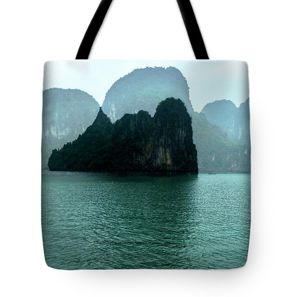 Halong Bay Mountains, Vietnam Tote Bag