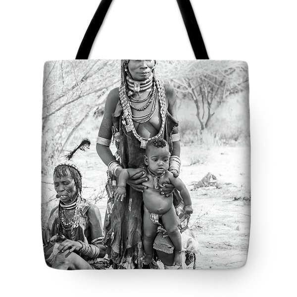 Hammer Women And Child Tote Bag