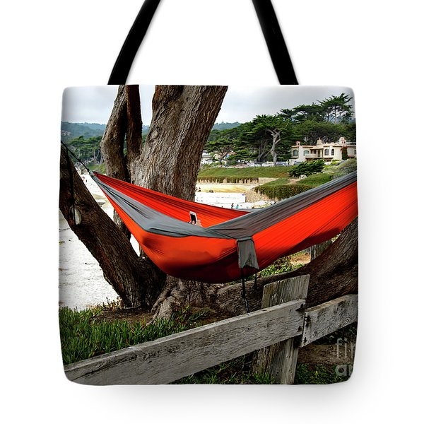 Hammock By The Sea Tote Bag