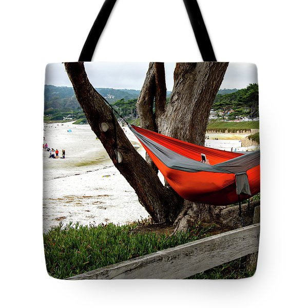 Hammock By The Sea Tote Bag