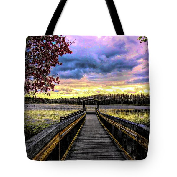 Hammond Lake Tote Bag