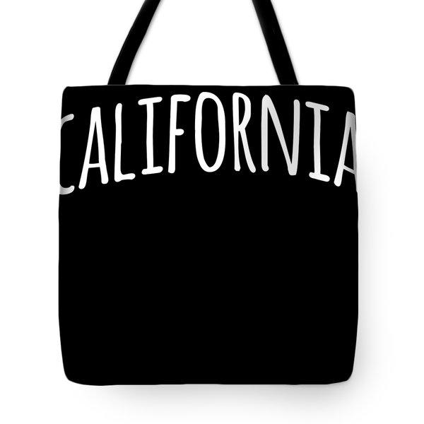 Hand California Tote Bag