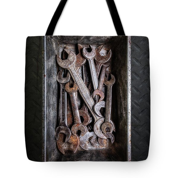 Hand Tools - Wrenches Tote Bag