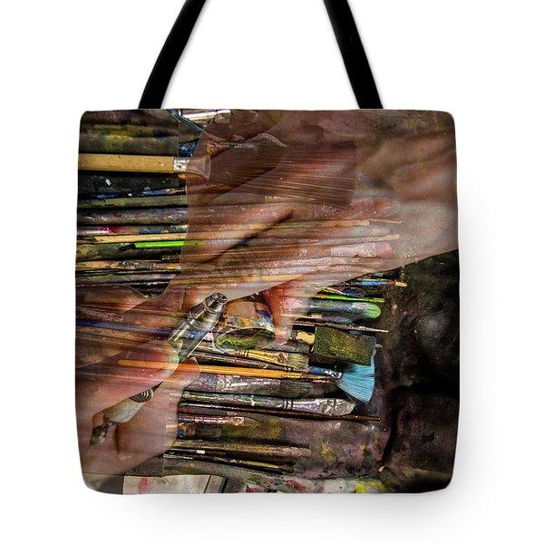 Handy Tools Tote Bag