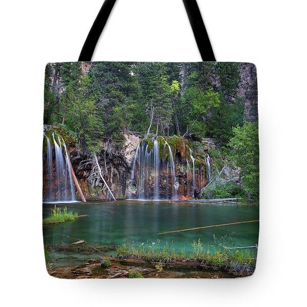 Hanging Lake Colorado Tote Bag
