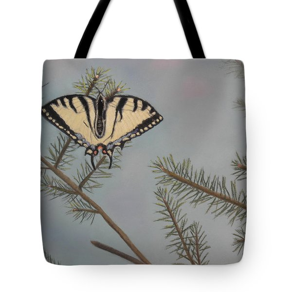 Hanging On To Summer Tote Bag