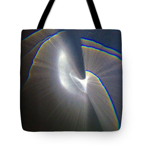 Happy Accident 1 Grey Tote Bag