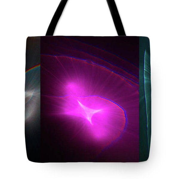 Happy Accident Triptych Tote Bag