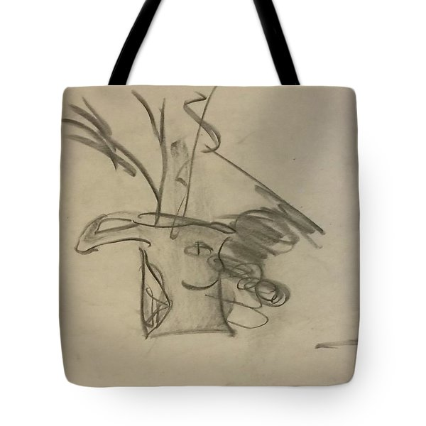 Happy Bowl Sketch Tote Bag