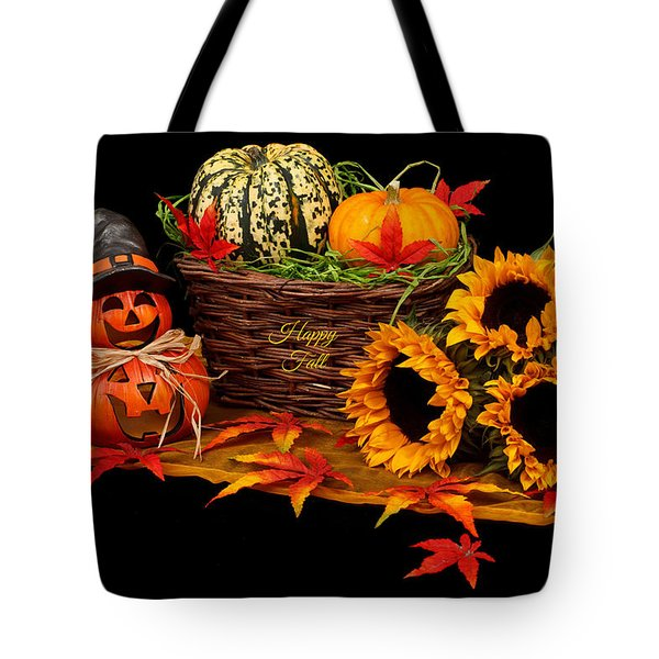 Happy Fall Tote Bag