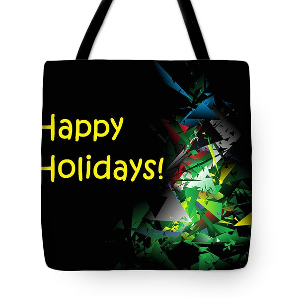 Happy Holidays - 2018-1 Tote Bag
