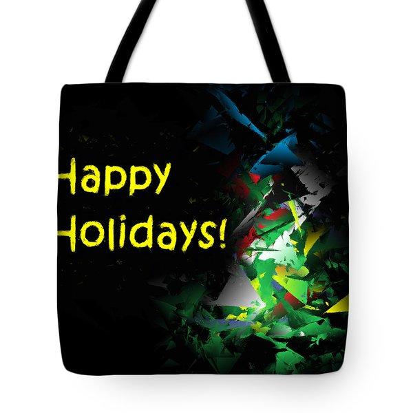 Happy Holidays - 2018-7 Tote Bag